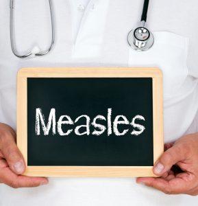 measles airborne precautions