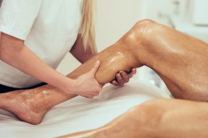 deep tissue foot massage