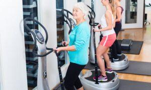 senior full body vibration platform